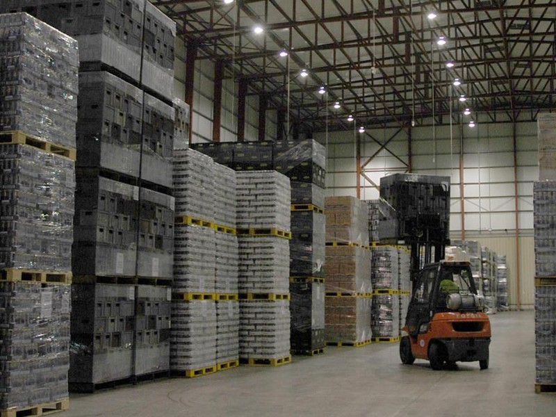 indusdtirla and warehouse led lighting